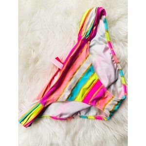 Victoria's Secret Rainbow Striped Bikini Bottoms✨